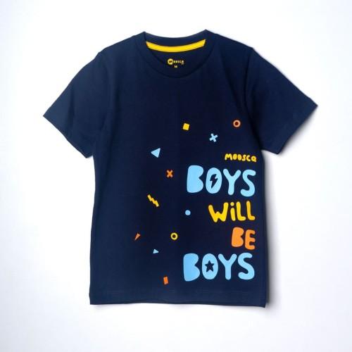 Foto Produk Moosca Kidswear Boys Will Be Boys T-shirt Kaos Anak - S dari Moosca Kidswear