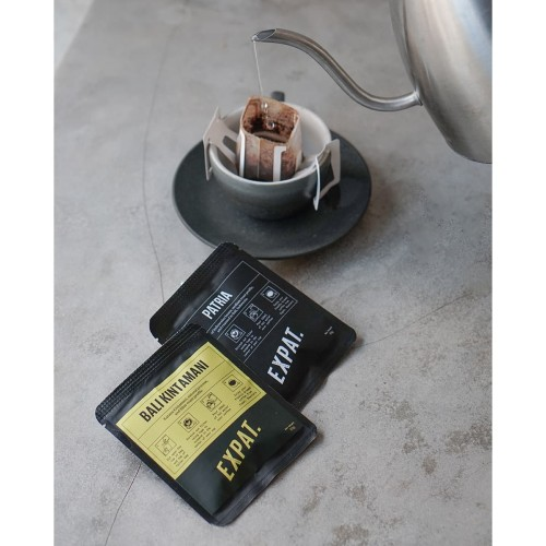 Foto Produk Package of 6 Bali Kintamani Single Use Coffe Filter 10g dari Expat. Roasters