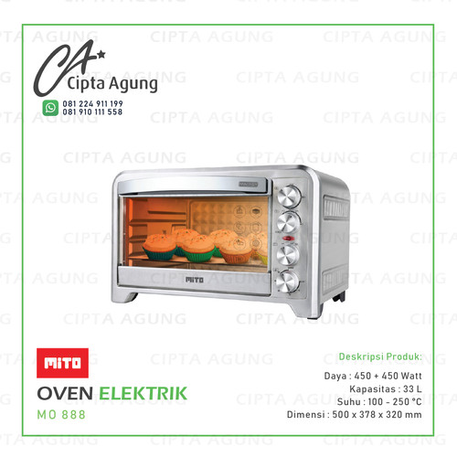 Foto Produk OVEN ELEKTRIK MITO MO 888 dari Cipta Agung Electronics