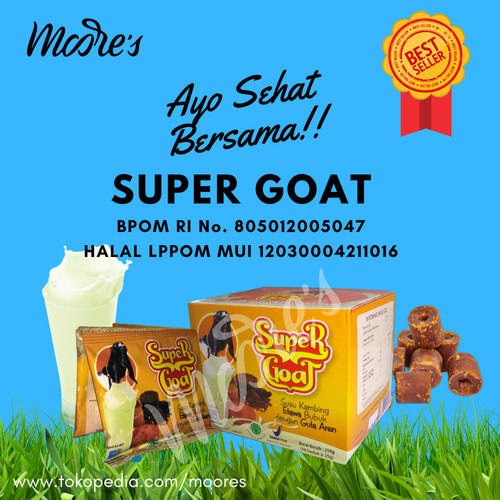 Foto Produk Super Goat (susu kambing etawa) dari Moore's