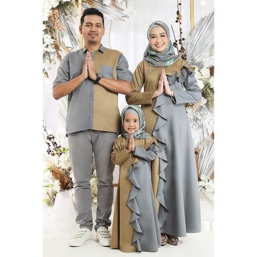 Foto Produk Siera Dress Choco Dewasa - XL dari SimplyMiiOfficial