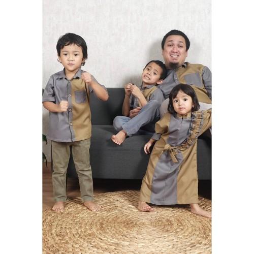 Foto Produk Koko Kids Siera Choco Lengan Pendek - XS dari SimplyMiiOfficial