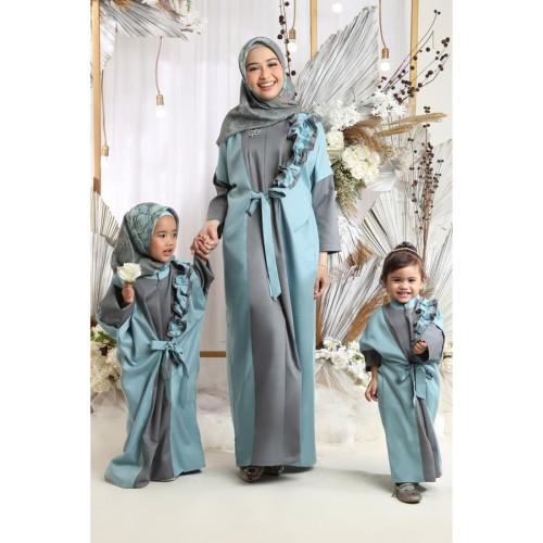 Foto Produk Namia Kaftan Kids Blue - All Size dari SimplyMiiOfficial