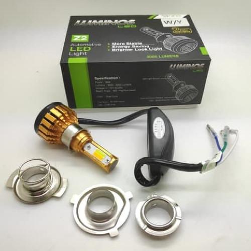 Foto Produk LAMPU LED MOTOR LUMINOS Z2 3 SISI 2 WARNA WHITE YELLOW dari Lestari Motor 2