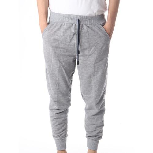 Foto Produk Celana Joger Sweatpants Polos Bahan Babyterry All Size S - XL - Putih dari Grosir Pusat Surabaya