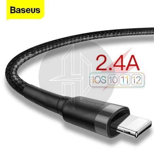 Foto Produk BASEUS Cafule Lightning Fast Charging Kabel Data Iphone Ipad Charger - SATU M dari HimTech