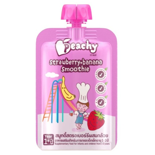 Foto Produk Peachy Strawberry Banana Smoothie dari Mothercare ELC Official