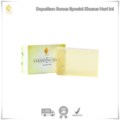 Foto Produk Royalty Cosmetic Cleansing Soap Sabun Pembersih Wajah Kusam Terbaik dari DELASHA STORE