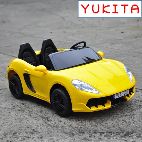 Foto Produk Mobil Aki Yukita YSA-021 12 Volt (bisa muat 2 orang dewasa) - Kuning dari allunid store