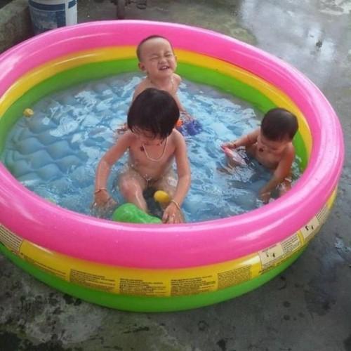 Foto Produk Intex Sunset Swim Pool 147 x 33cm. Kolam Renang Karet Anak. - dari Palembang dari Sportsite