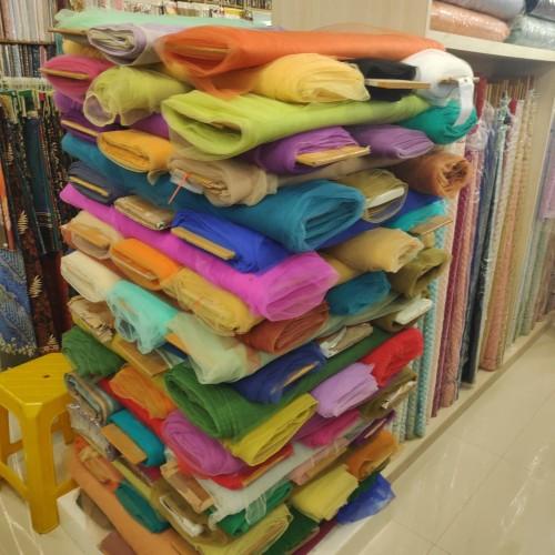 Foto Produk SOFT TULLE HALUS / KAIN TILE dari Toko Moro Joyo