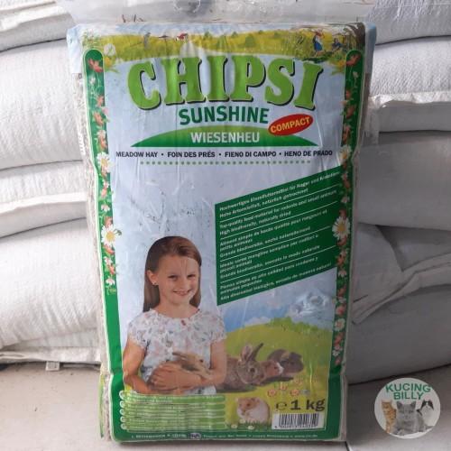 Foto Produk Chipsi sunshine meadow hay 1kg dari Kucingbilly