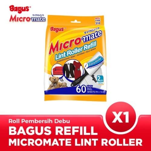 Foto Produk Bagus Micromate Lint Roller Refill 2's Type 310 dari Bagus Official Store