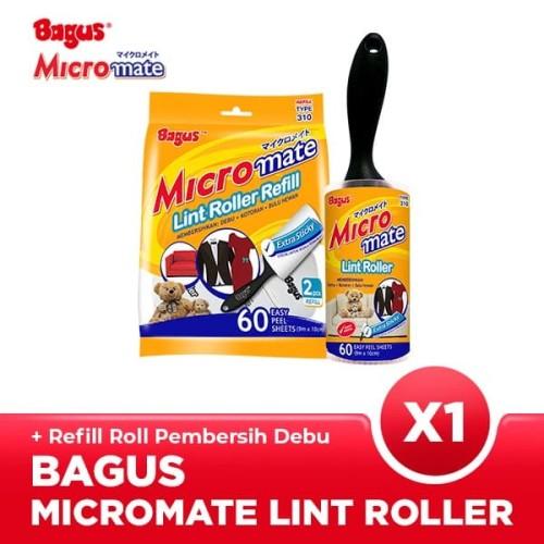 Foto Produk Bagus Micromate Lint Roller Cap Type 310 + Refill dari Bagus Official Store
