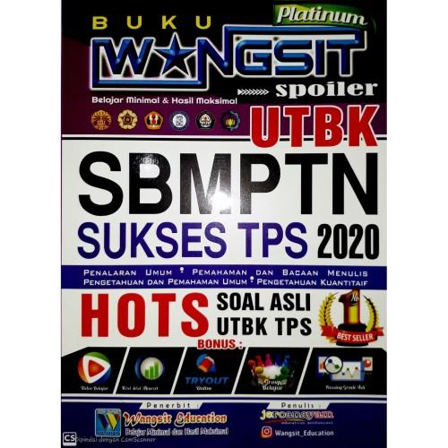 Foto Produk Buku Wangsit Spoiler UTBK SBMPTN 2020 TPS Platinum dari Buku Wangsit SBMPTN