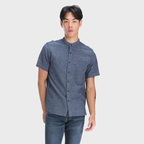 Foto Produk Levi's Ss Mandarin Collar Shirt Alfonso Dress Blues (69891-0004) - S dari Levi's Official