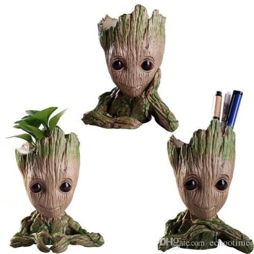 Foto Produk Baby Groot Guardian Of Galaxy Figure / Flower Pot / Tempat Pen dari ToysColection