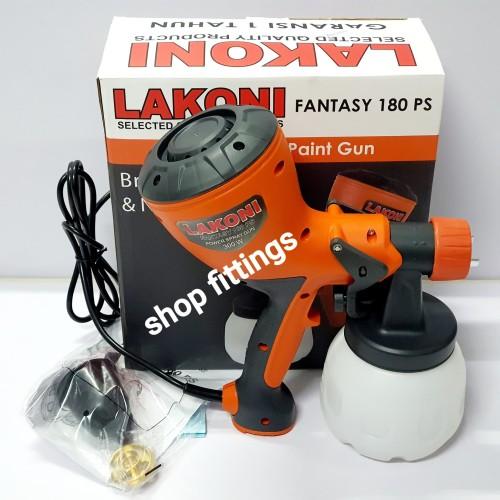 Foto Produk LAKONI Alat Semprot Listrik Disinfektan Spray Gun Electric Fantasy 180 dari shop fittings