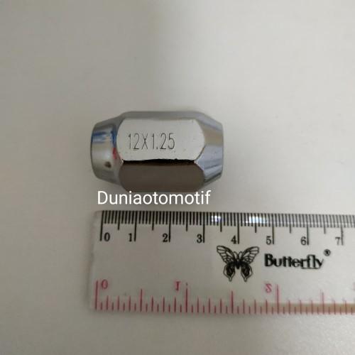 Foto Produk Mur Roda Racing Fujita Kunci 19 dan 21 Drat 1.5 dan 1.25 Per Pcs - 21 x 1.25 dari duniaotomotif2020