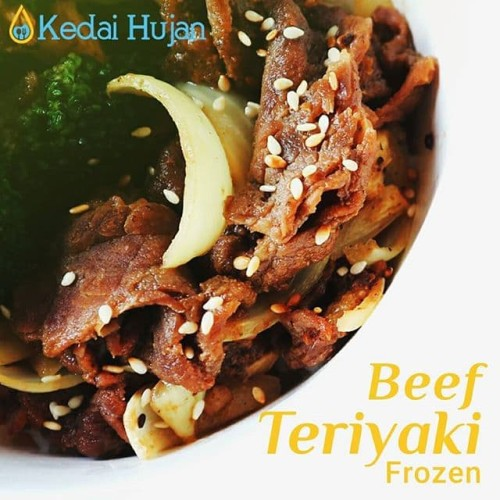 Foto Produk Beef teriyaki frozen / daging sapi slice / daging sapi potong tipis dari kedaihujan