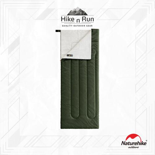 Foto Produk Sleeping Bag Naturehike H150 Envelope Cotton Standard NH19S015-D - Hijau dari Hike n Run