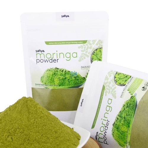 Foto Produk Bubuk Daun Kelor Organik 250 gr Powder Moringa Original Safiya Herbal dari Kurma Alif Jakarta