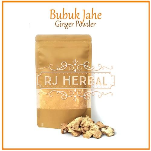 Foto Produk [200 gram] Jahe Bubuk Murni / Ginger Powder dari RJ Herbal