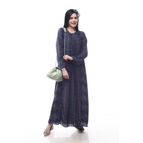 Foto Produk Sikka by Aisaa - Gamis - Blue Greyish - M dari Aisaa Official