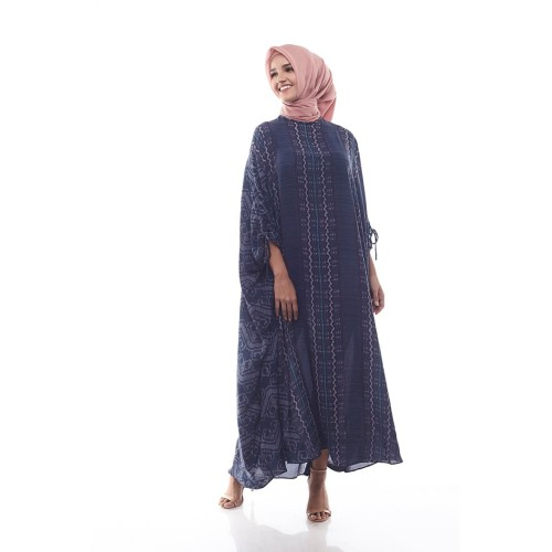 Foto Produk Sikka by Aisaa - Kaftan Lengan Serut - Blue Greyish dari Aisaa Official