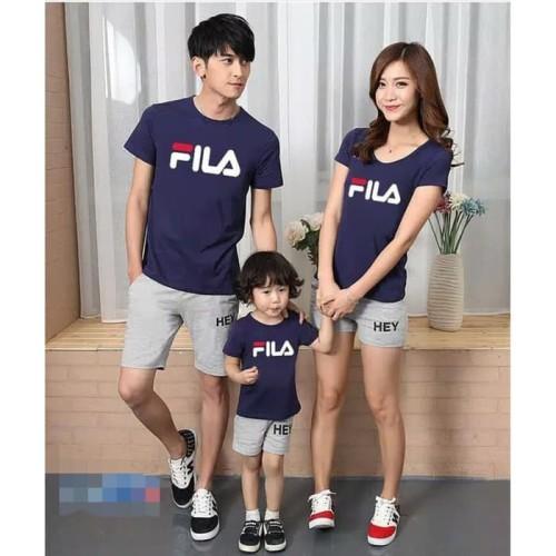 Foto Produk LFS nd cp obila fila / fashion pria wanita dan anak baju keluarga dari Live Style Fashion