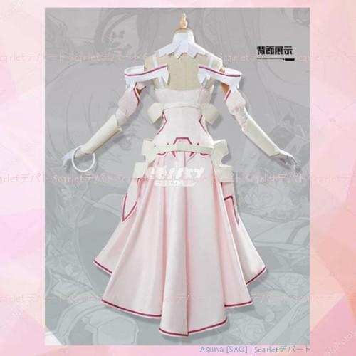 Foto Produk Promo Po Kostum Yuuki Asuna Stacia Sword Art Online 3 Sao Cosplay - dari Jamina Store