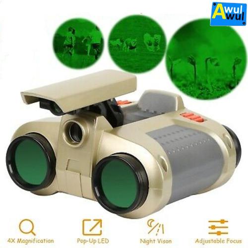 Foto Produk Teropong Binocular Mainan Anak dilengkapi Lampu Night Scope dari Awulawul