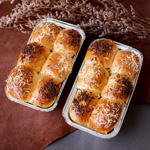Foto Produk Roti Manis Keju Coklat dari The Golden Spatula