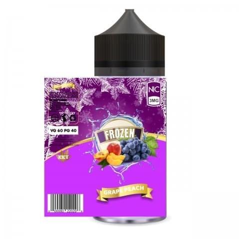 Foto Produk Frozen - Grape Peach - 100ml Liquid Lokal dari VapeOi