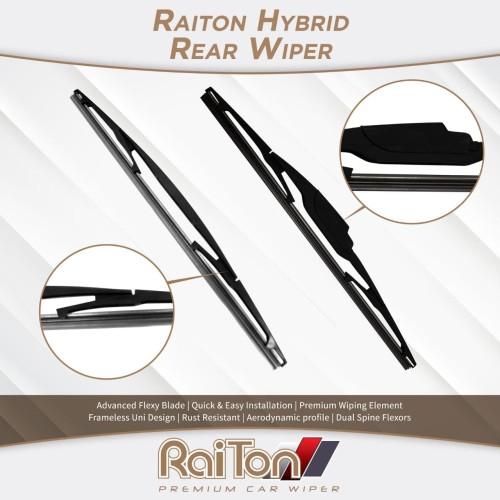 Foto Produk Raiton Wiper Hybrid Kaca Belakang Mobil Suzuki Ignis [12 Inch] dari Raiton