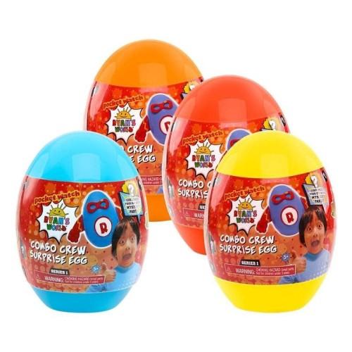 Foto Produk Ryan World Surprise Squeezies Egg (Colors & Styles May Vary) - Kuning dari Deals Corner Toys