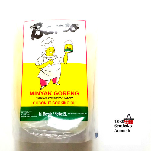 Foto Produk Barco minyak goreng 2 lt liter exp 2023 dari Sembako Amanah20