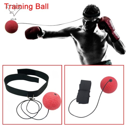 Foto Produk Boxing Punch Exercise Fight Ball With Head Band For Fitness dari Fixbeli