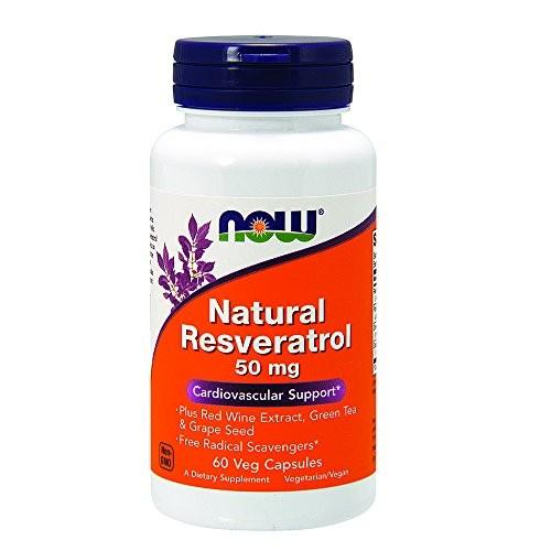 Foto Produk NOW Supplements, Natural Resveratrol plus Red Wine Extract, Green Tea dari Exborders
