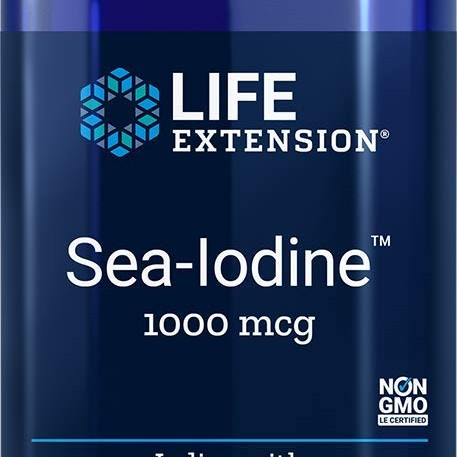 Foto Produk Life Extension Sea-Iodine Capsules, 1000 mcg, 60 Count, Package may va dari Exborders