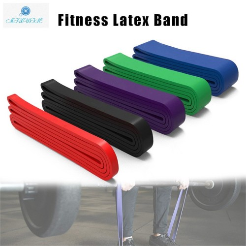 Foto Produk Band Elastis Bahan Latex untuk Latihan Fitness Yoga dari Fixbeli
