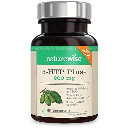 Foto Produk NatureWise 5-HTP Max Potency 200mg | Mood Support, Natural Sleep Aid & dari Exborders
