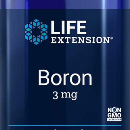 Foto Produk Life Extension Boron 3 Mg 100 Vegetarian Capsules dari Exborders