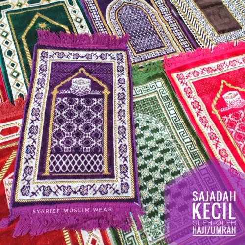 Foto Produk Sajadah Kecil | Oleh-oleh Haji & Umrah dari Syarief Muslim Wear