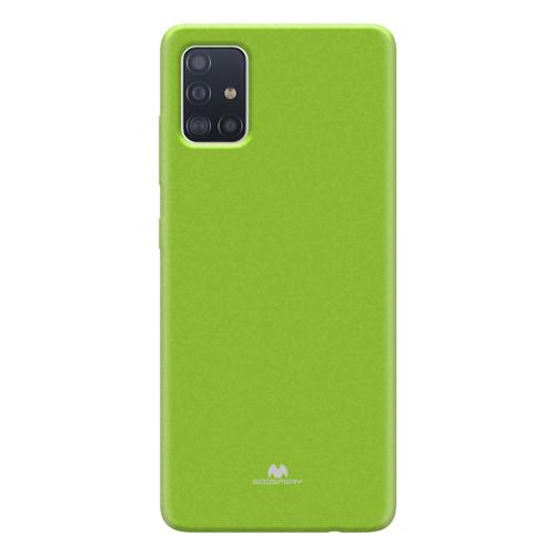 Foto Produk GOOSPERY Samsung A71 Pearl Jelly Case - Lime dari Goospery Indonesia