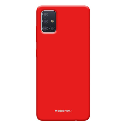 Foto Produk GOOSPERY Samsung Galaxy A71 Soft Feeling Jelly Case A715 - Red dari Goospery Indonesia