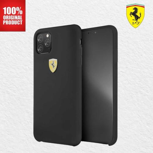 Foto Produk Casing iPhone 11 Pro On Track SF Silicone Ferrari - Black dari PlayWorks Official Store
