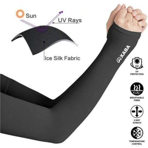 Foto Produk Manset Tangan / ArmSleeve / Pelindung Tangan XABA Colour Black dari XABA