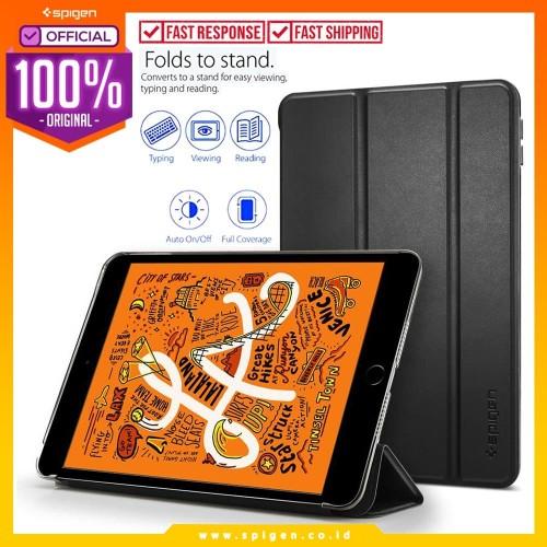 Foto Produk Case iPad Mini 5 2019 Spigen Smart Fold Leather Magnetic Cover Casing dari Spigen Official