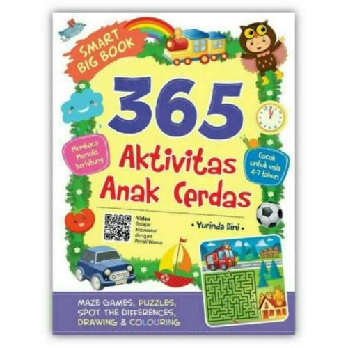 Foto Produk Smart Big Book 365 Aktivitas Anak Cerdas dari Toko Kutu Buku